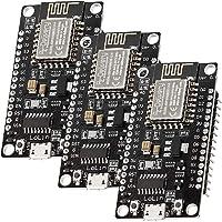 AZDelivery 3 x NodeMCU Lolin V3-modul ESP8266 ESP-12F WIFI Wifi-utvecklingskort med CH340 kompatibel med Arduino…