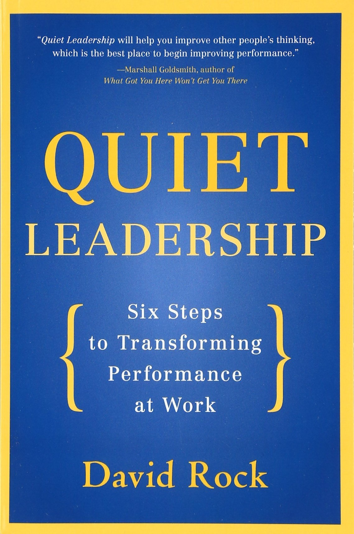 Quiet Leadership Steps Transforming Performance product image