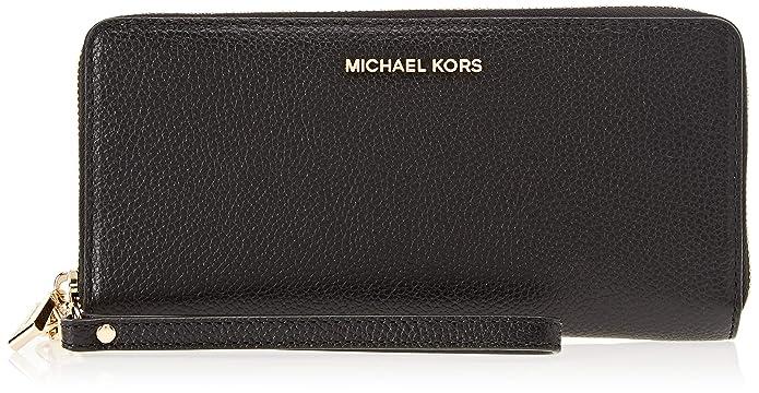 Michael Kors MICHAEL by Mercer schwarz Leder kontinentalen Armband