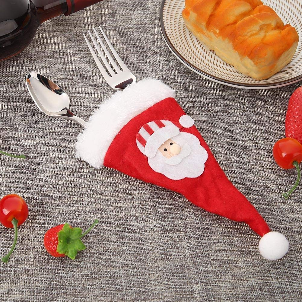 Alloet Non-Woven Fabric Christmas Knife Fork Bag Party Dinner Decor (MG1851.01) by Alloet (Image #2)