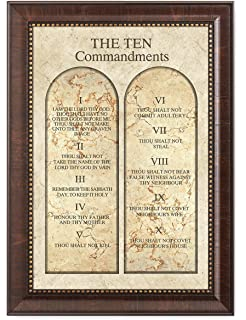 Amazoncom The Ten Commandments By Gail Eads 12x20 Bible 10