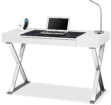 ergonomic home office desk. centurion supports adonis gloss white and chrome ergonomic home office luxury computer desk s
