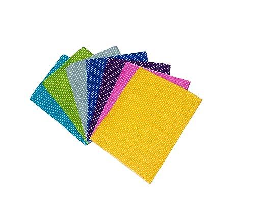 XGuangage 8 piezas mezcla de algodón para manualidades, tela ...