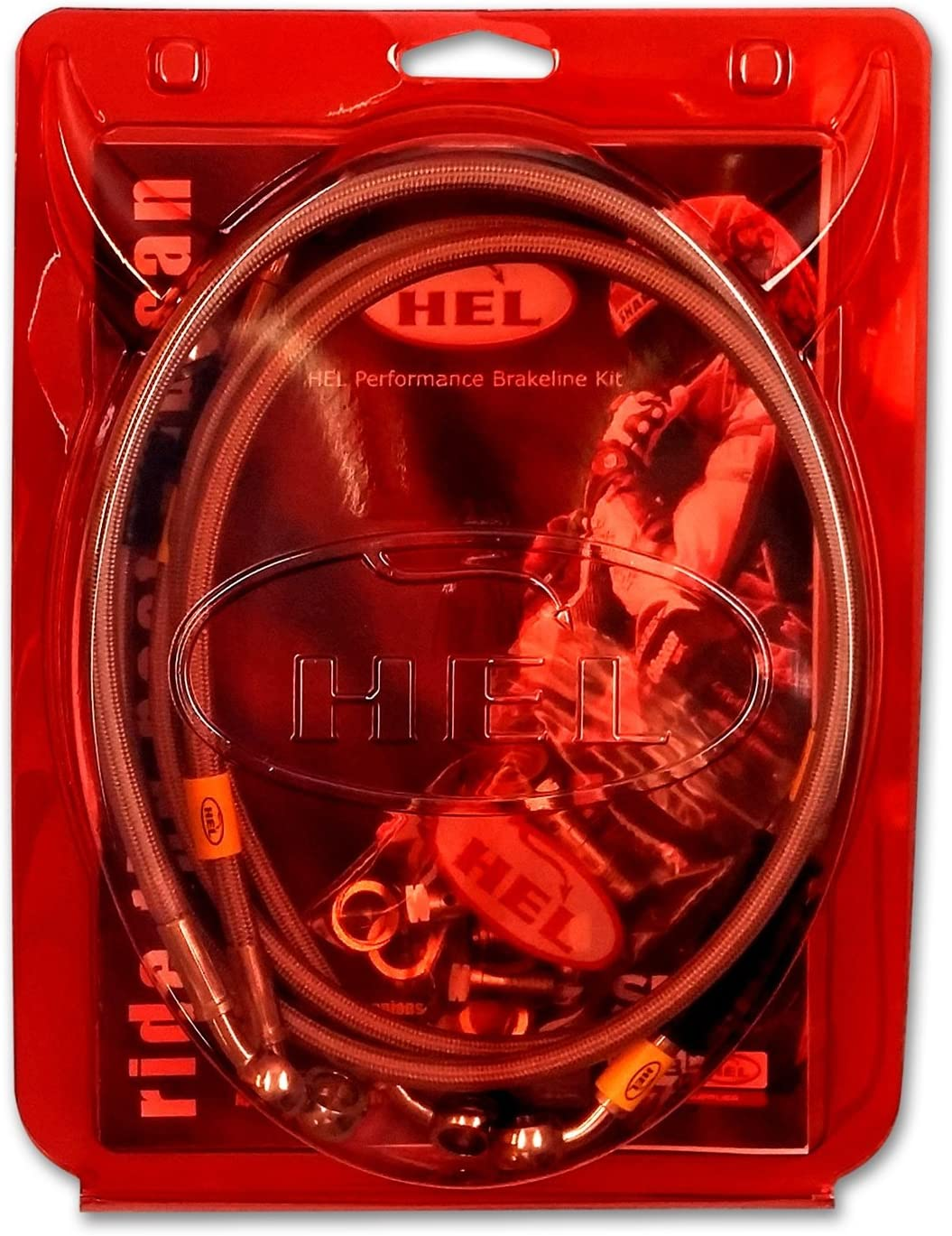 Kawasaki Z1000 2007-2009 HEL Performance Stainless Steel Front /& Rear Brake Line Kit
