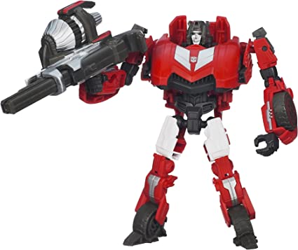 NO FIGURES Sideswipe and Red Alert Weapons