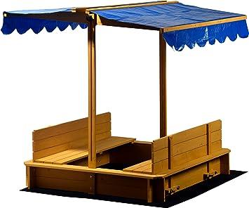 dobar 94357 FSC – Caja de Arena con Giro barem tejado de Asiento ...