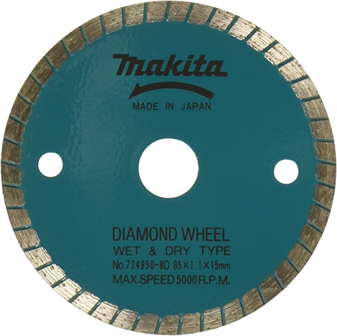 Montolit 3-3//8 Red Line SQUADRO Small Diameter Dry Use Diamond Blade