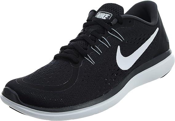 Nike Flex 2017 RN, Zapatillas de Running para Hombre, Negro (Black/White-Anthracite-Cool Grey 001), 45 EU: NIKE: Amazon.es: Zapatos y complementos