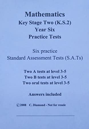 KS2 Maths Practice Sats Papers - pdf file to print out: Amazon.co.uk ...