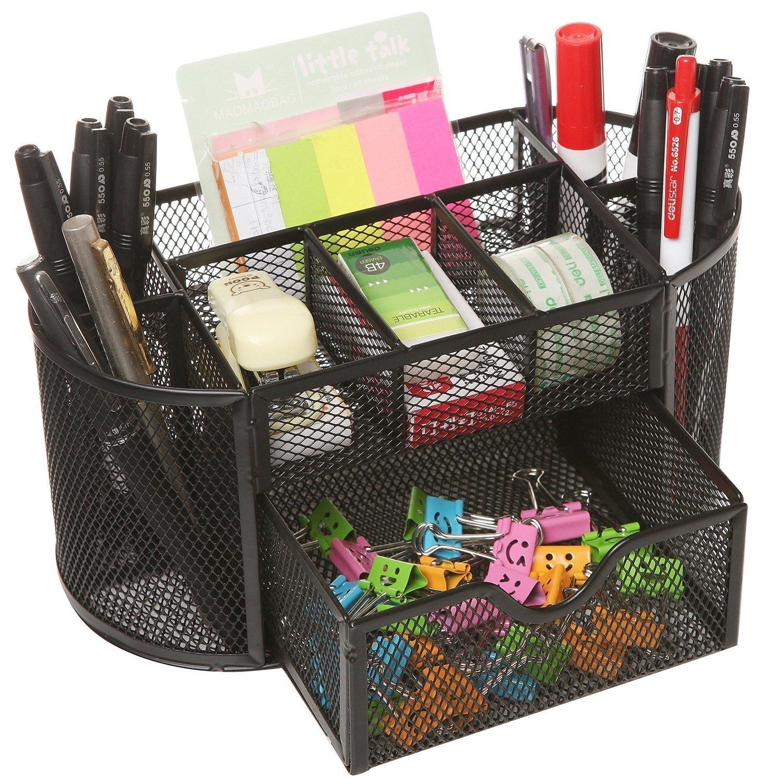Callas Metal Mesh Desk Organizer, Black LD 708-05 product image