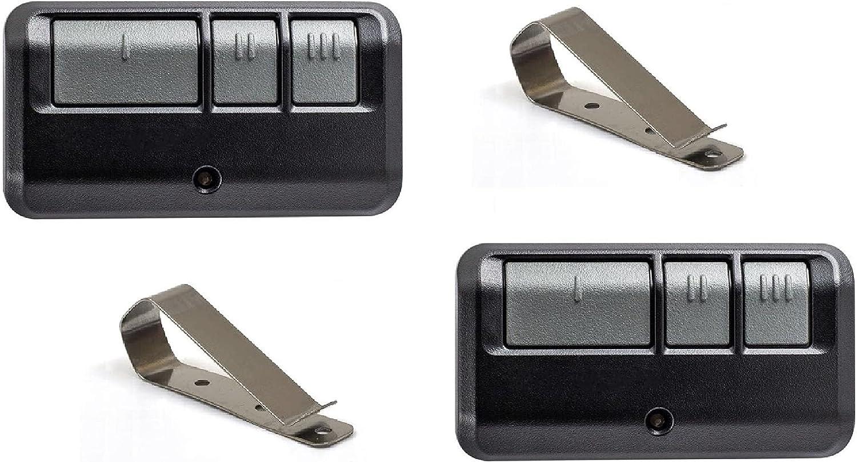 Alisontech G953EV-P2 953EV-P2 Universal Remote for Chamberlain/Liftmaster/Sears Craftsman/Genie/Linear Garage Door Openers(2Pack)