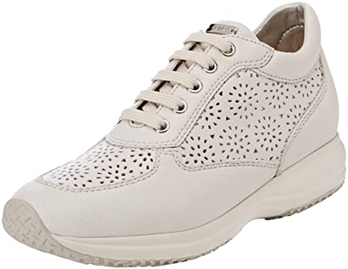 Womens D Happy a Low-Top Sneakers Geox