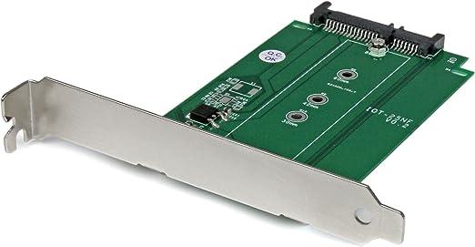 Startech Com S32m2ngffpex M 2 Auf Sata Adapter Silber Computer Zubehör