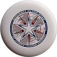 "Discraft Ultra Star 175g Ultimate Frisbee ""Starburst"" - white"