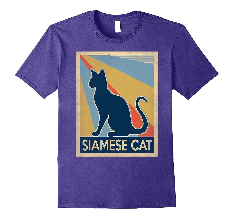 Vintage siamese Cat Tshirt-CL