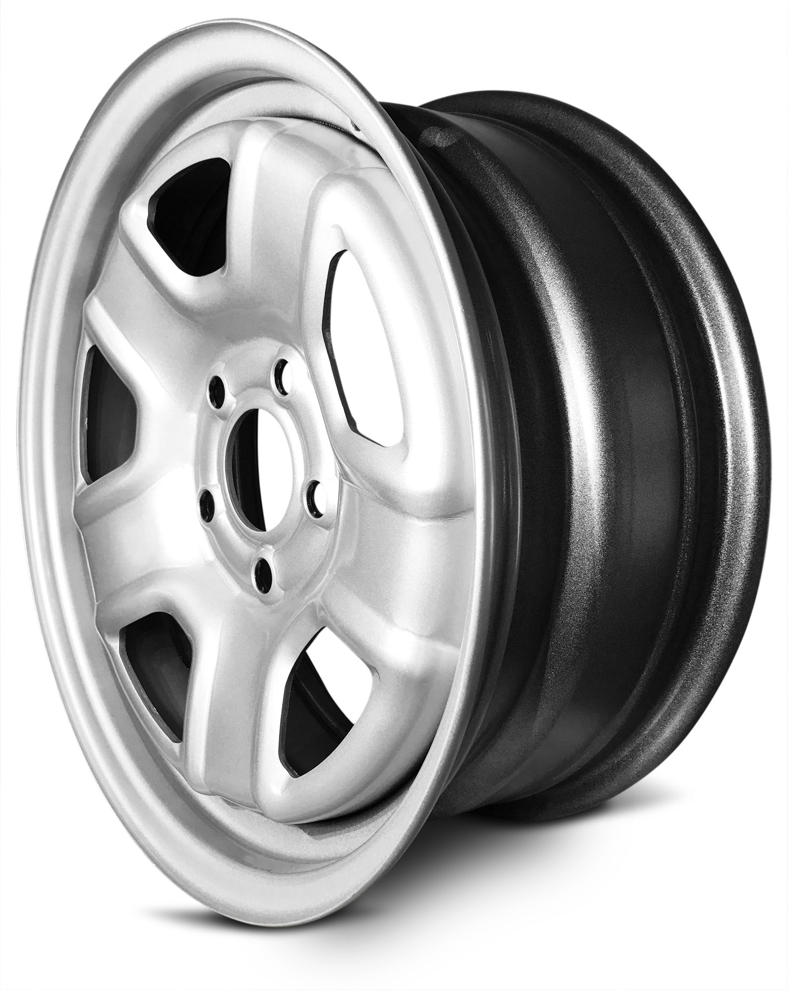New 16 Inch Jeep Patriot Compass 5 Lug Silver Replacement Steel Wheel Rim 16x6.5 Inch 5 Lug 67.1mm Center Bore 40mm Offset WAA by Road Ready Wheels (Image #2)