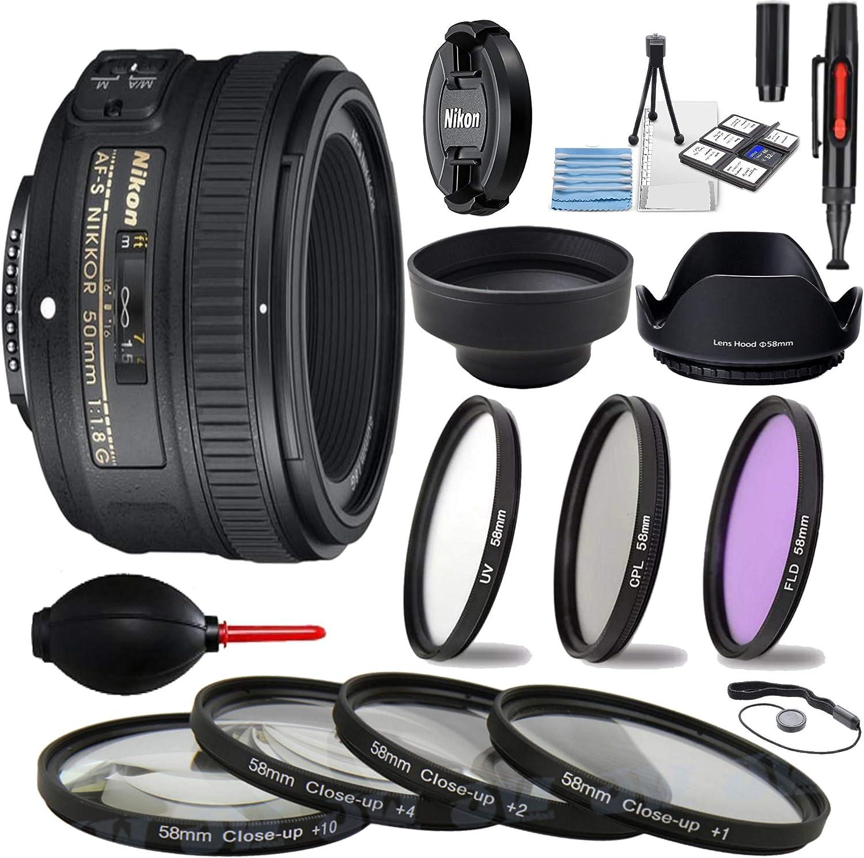 LENS HOOD 58mm for Nikon AF-S NIKKOR 50 mm f//1,8G