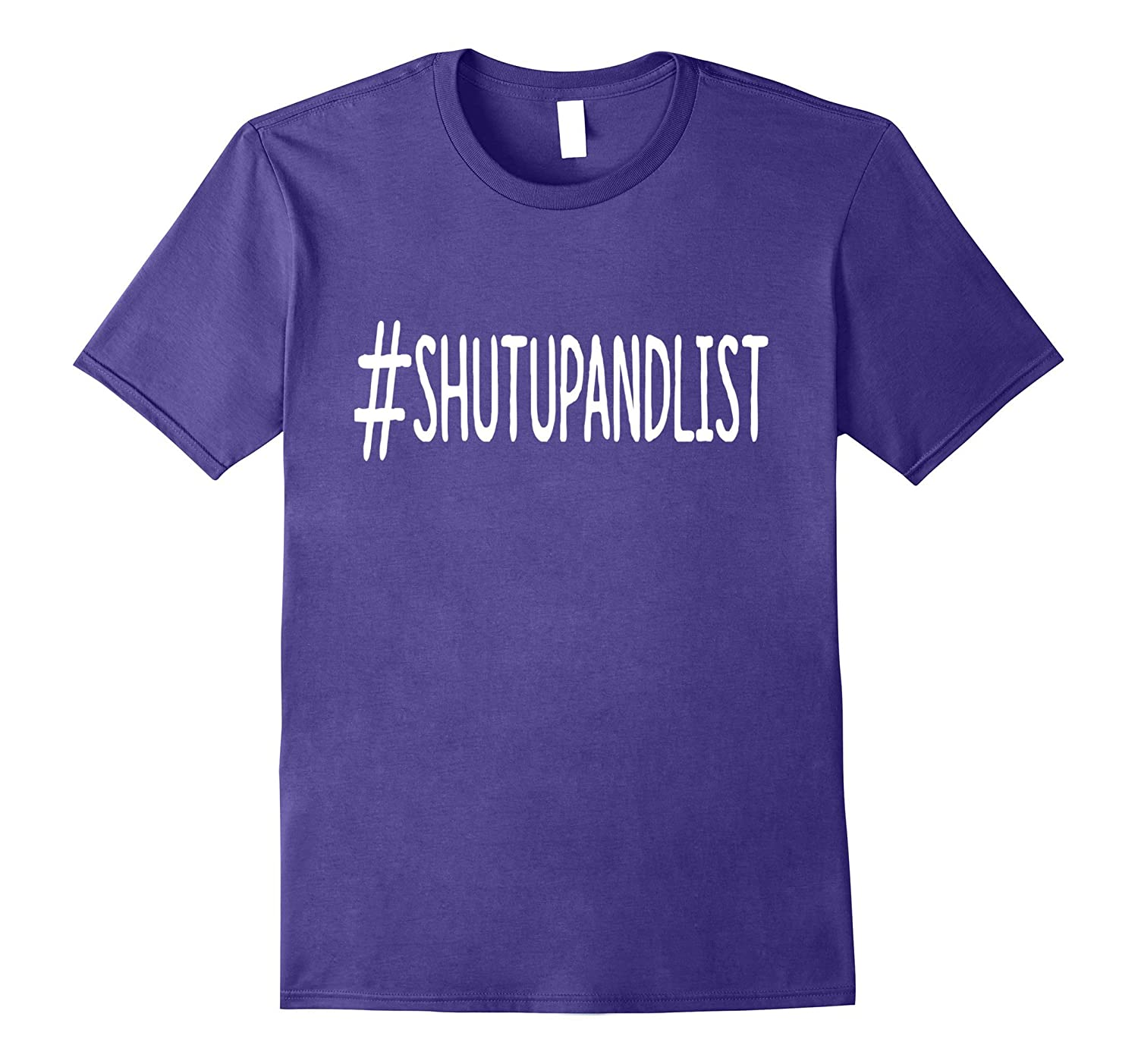 #Shut Up and List Online Seller Tee Dark-Art