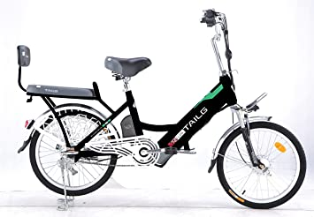 Electric Bike acelerador Twist y Go 48 V recargable de litio recargable – 2 plazas eléctrica