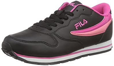 8af2ba788cf5 Fila Women s ORBIT LOW WMN Low-Top Sneakers Black Size  7.5 UK (41 ...