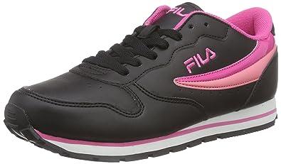 c678856139c8 Fila Women s ORBIT LOW WMN Low-Top Sneakers Black Size  7.5 UK (41 ...