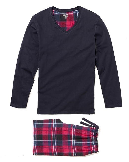 Celio VIPILOU - Pijama para hombre, color rojo, talla XX-Large