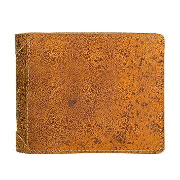 140b8daa86e67 Herren Brieftasche echtes Leder Jahrgang Reise Brieftasche Luxus Karte  schmale Klapp geldbörse für Männer