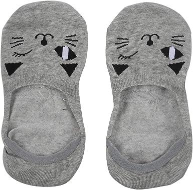 REFURBISHHOUSE Cat Warm comodo algodon fibra chica calcetines de ...