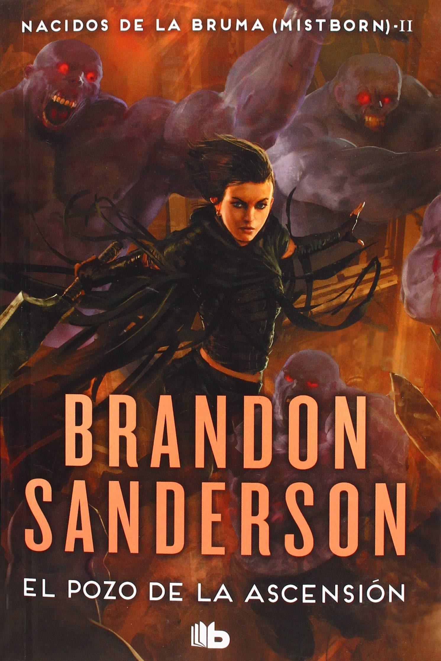 El Pozo de la Ascensión Nacidos de la bruma Mistborn 2: Amazon.es: Brandon  Sanderson, Rafael Marin Trechera;: Libros