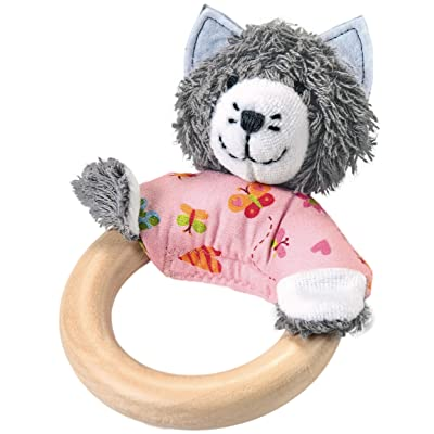 Kathe Kruse - in The Garden - Wooden Cat Grabbing Toy : Baby
