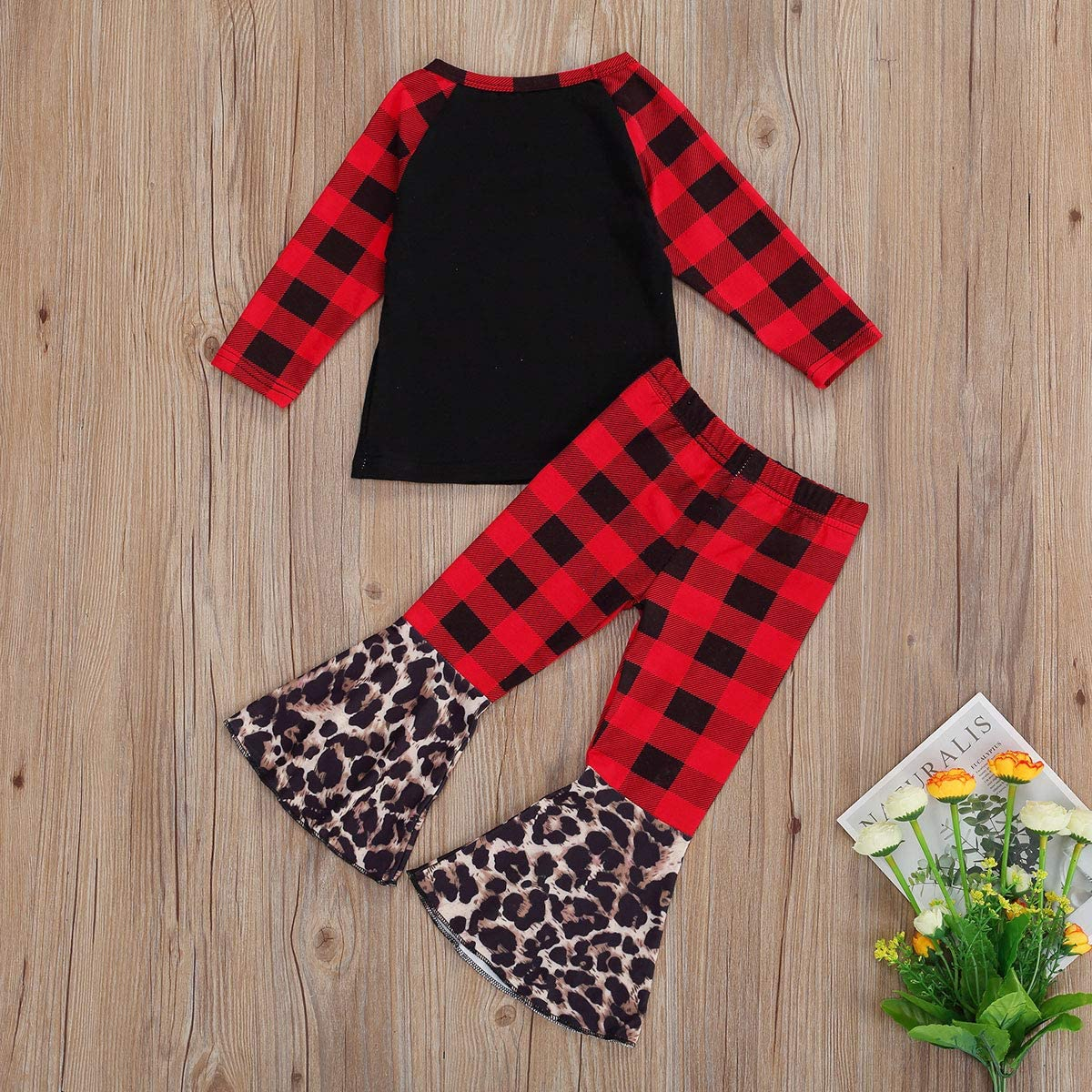 Winter Holiday Boho Flare Stretch Cotton Christmas Outfit 12-18 Months 2T 3T 4T 5 6 7 8 Toddler Girls Reindeer Red Stripe Tie Twirl Dress