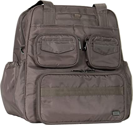 One Size Lug Womens Puddle Jumper Overnight Midnight Black Infinity Gym Bag