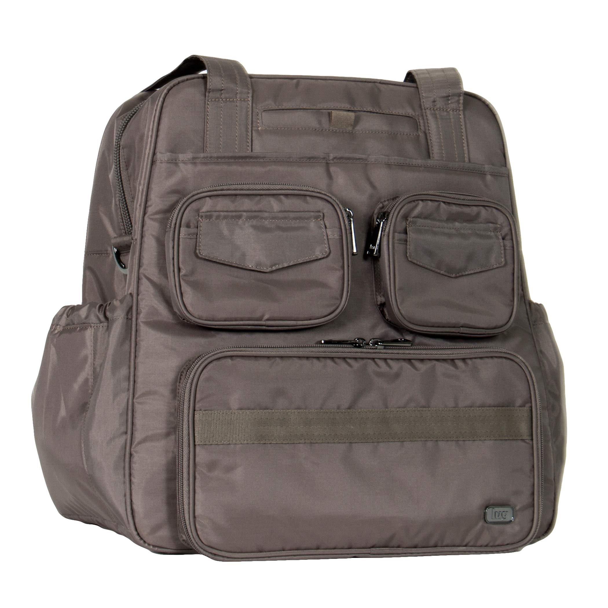 Lug Women's Puddle Jumper Overnight/Gym Bag (Infinity), Walnut Brown, One Size