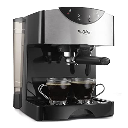 Mr. Coffee Automatic Dual Shot Espresso/Cappuccino System, ECMP50 by Mr. Coffee: Amazon.es: Hogar