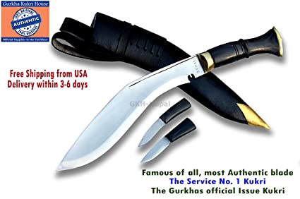 Amazon.com: Gurkha – issued oficial auténticos Kukri ...