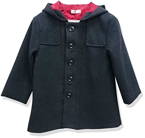 Condor - Abrigo niños, color 290 gris oscuro, talla 12 M