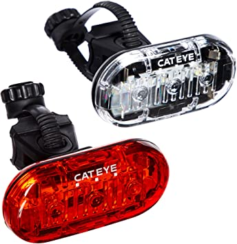 discount incredible prices release info on Amazon.com : CAT EYE - Omni 3 LED Safety Bike Lights with Mounts ...