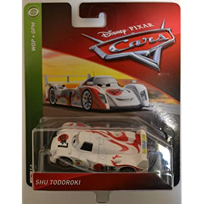 Disney/Pixar Cars Shu Todoroki WGP - GPM Series 1:55 Scale Collectible Die Cast Model Car: Toys & Games