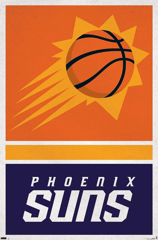 Trends International NBA Phoenix Suns - Logo 20 Wall Poster, 22.375