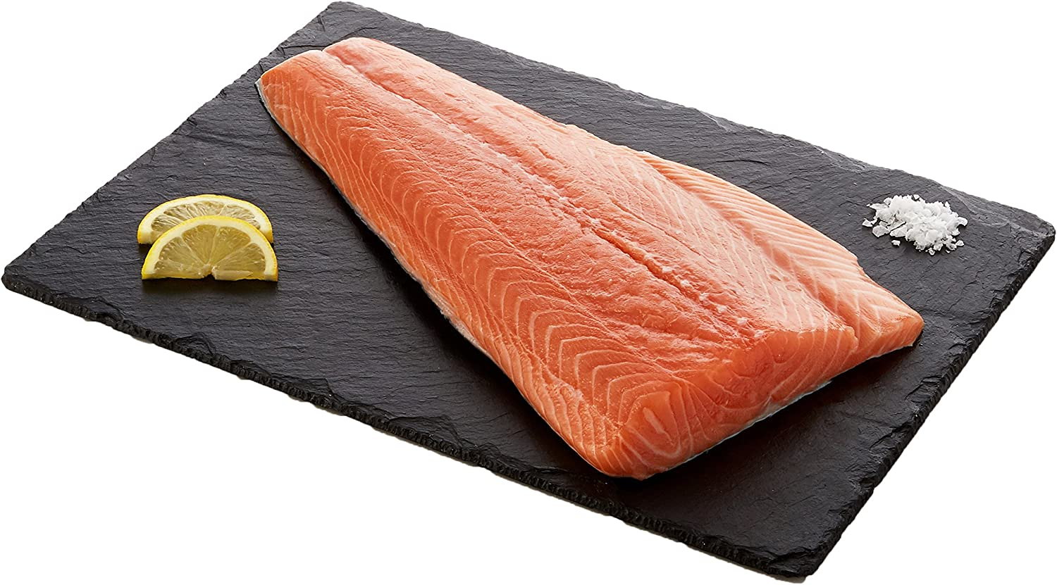 Russell's Half Salmon Side Boneless and Skin On, 850g: Amazon.co.uk: Grocery