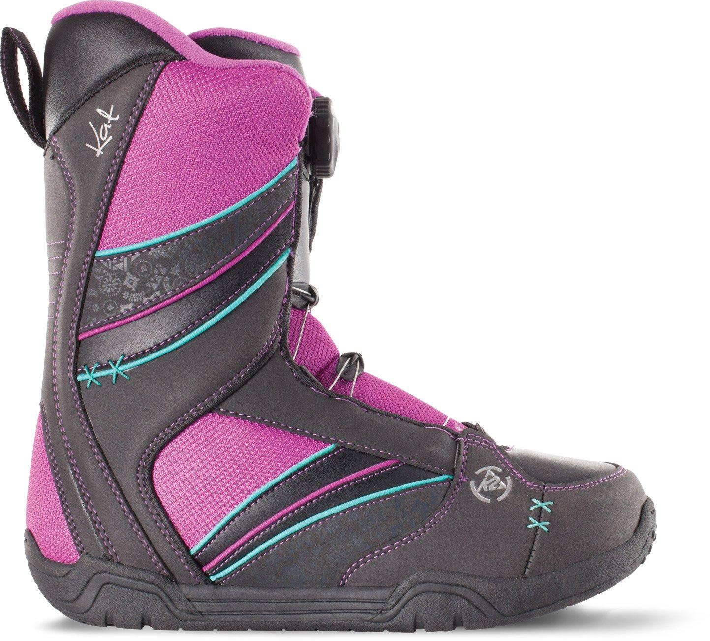 K2 Kat Snowboard Boot 2015, Black, 6