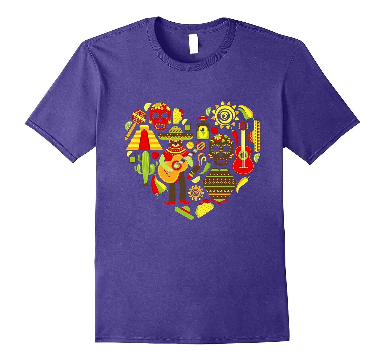 Love Cinco De Mayo T-Shirt Cinco De Mayo Costume Tee-Vaci