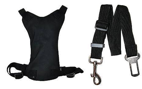 dappadog® Coche y caminar Arnés En Color Negro, Rojo o Azul Plus ...