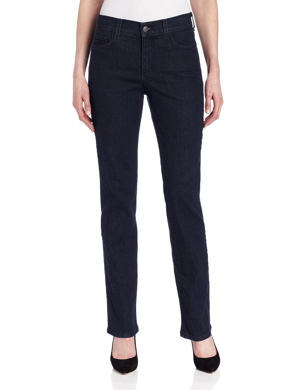 NYDJ Women's Marylyn Straight Leg Jeans In Tonal Blue/Black Wash