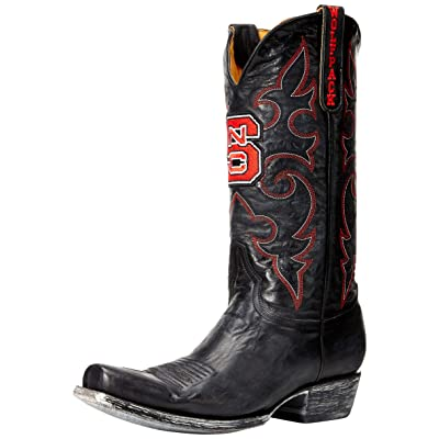 NCAA North Carolina State Wolfpack Men's Board Room Style Boots: Sports & Outdoors