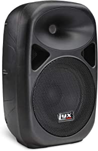 """LyxPro SPA-8 Compact 8"""" Portable PA System 100-Watt RMS Power Active Speaker System Equalizer Bluetooth SD Slot USB MP3 XLR 1/4"""" 1/8"""" 3.5mm Inputs"""