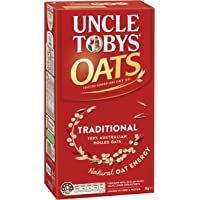 UNCLE TOBYS UNCLE TOBYS Oats Traditional 1kg, 1 kg