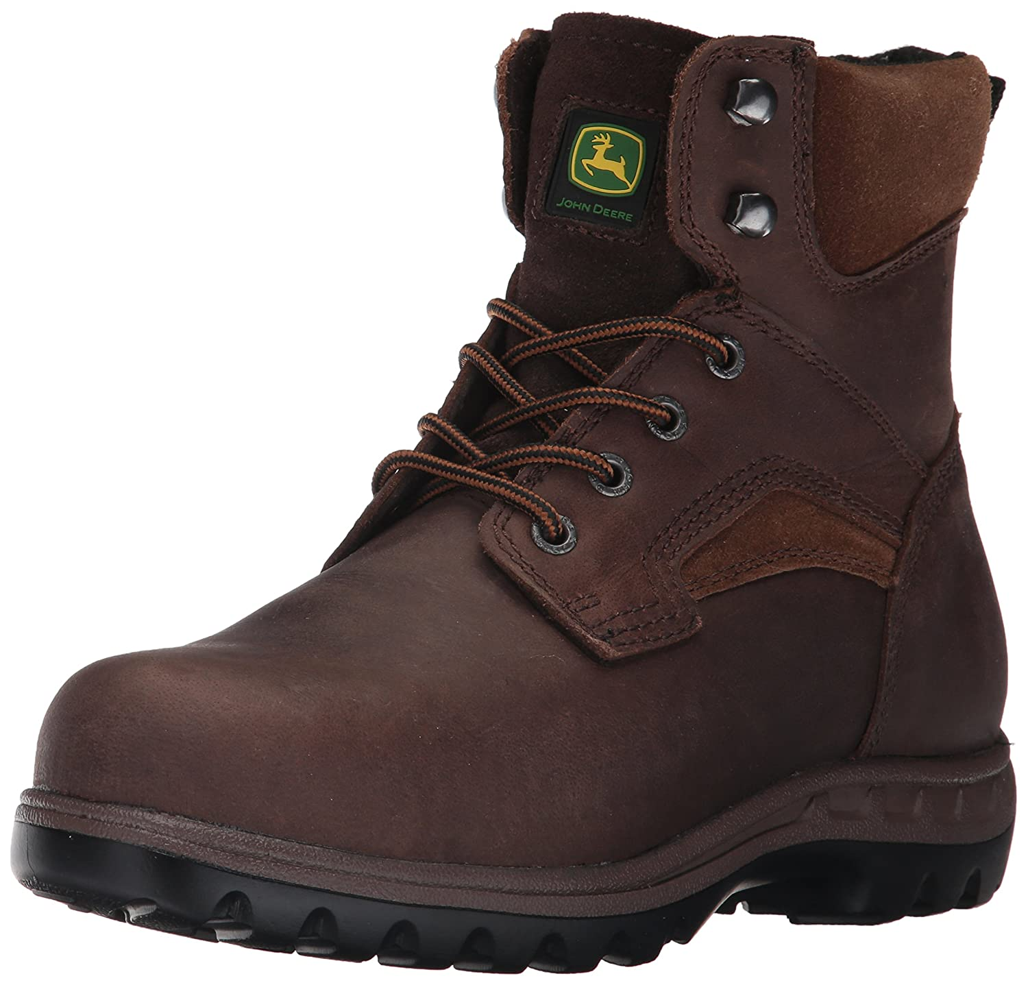 John John John Deere Women's JD3694 Ankle Boot B0711MFTZC 10 W US|Brown 747567
