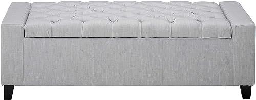 Christopher Knight Home Hikaru Fabric Storage Ottoman