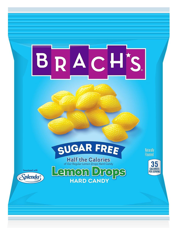 Brach's Sugar Free Lemon Drops Hard Candy, 4 5 oz